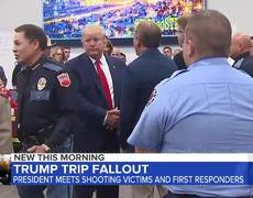 Trump launches political attacks in El Paso, Dayton visits