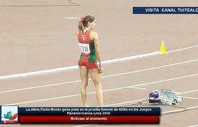 Paola Morán gana plata en la prueba femenil de 400m en los Juegos Panamericanos Lima 2019