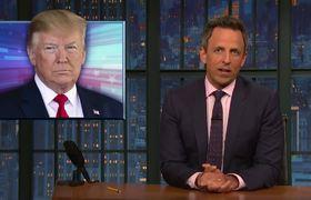 Late Night: Trump Attacks Biden; NRA Calls Trump
