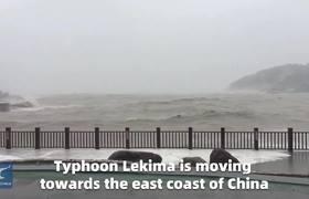 China es azotada por el Tifon Lekima