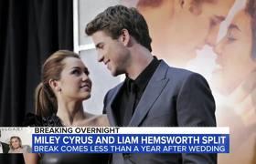 GMA: Fans sorprendidos por la separación de Miley Cyrus y Liam Hemsworth
