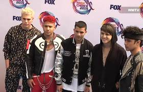 CNCO arrive at 2019 Teen Choice Awards