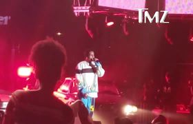 A$AP Rocky's First Performance Since Swedish Arrest Was Heartfelt, Hyped