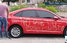 'No que no eras casado' mujer despechada raya Volkswagen Jetta de infiel