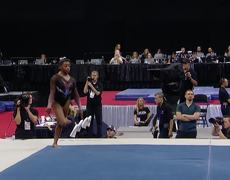 Simone Biles Stuns With New Triple Double on Floor | Champions Series