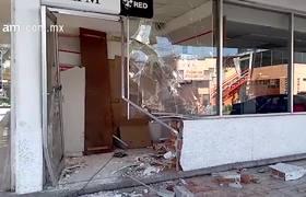 Roban cajero de empresa de HSBC en Celaya