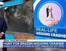 Police ask for public's help to find repeat wedding crasher