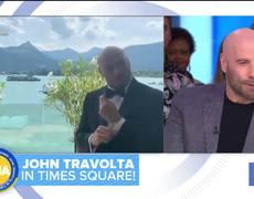 John Travolta talks new movie 'The Fanatic'