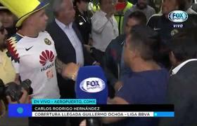 Primeras palabras de Guillermo Ochoa en su llegada a México