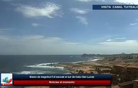 Sismo de magnitud 5.8 sacude el sur de Cabo San Lucas