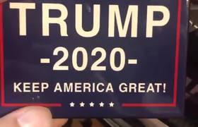 Qué Plot Twist tan inesperado... Publicidad de campaña de Trump para 2020 hecha en #México
