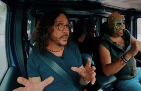 Oscar Burgos & Super Escorpión al volante