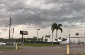 Massive Lightning Bolt Touches Down in Tampa