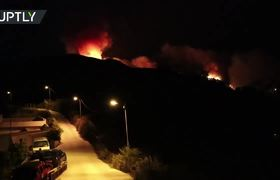 Evacuate more than 2,000 people for a new forest fire in Gran Canaria