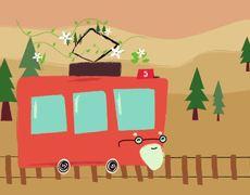 Song of the last tram | Songs to Dream (Disney Junior LA)