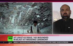 At least 63 killed, scores injured in blast at Afghan wedding in Kabul
