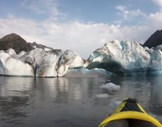 #VIDEO: 'Coolest thing I've ever done in my life': Two kayakers survive Alaska glacier collapse
