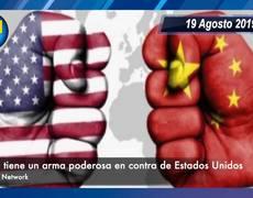 China tiene un ARMA PODEROSO en contra de Estados Unidos