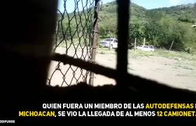 12 Camionetas del CJNG Entran en Tierra Caliente, Guerrero