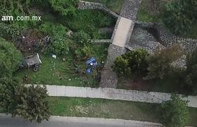 Mueren 3 personas en volcadura dentro de Gran Jardín en León