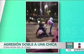 Agresión doble a una chica en la Zona Rosa de la CDMX