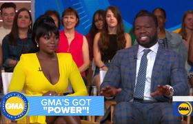 Cast of 'Power' takes over 'GMA'
