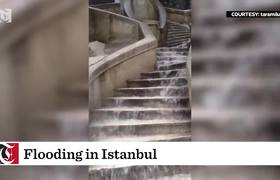 Flooding in Istanbul
