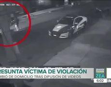 Cambia de domicilio la joven que denunció a policías de violación en Azcapotzalco