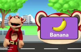 Learn English With The Monkey Syllabus. Fruits Lunacreciente English for Children