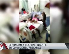 Denounce a children's hospital in precarious conditions in the Dominican Republic