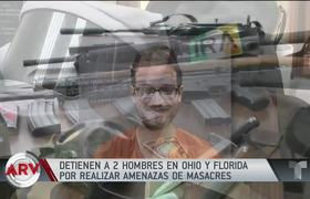 2 more men arrested for threats of massacre in Ohio and Florida