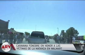 Tiroteo en El Paso: Caravana fúnebre en honor a las víctimas de la matanza | Al Rojo Vivo | Telemundo