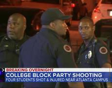 Shooting injures 4 at college back-to-school party
