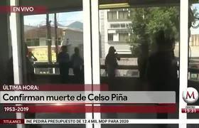 Celso Piña Falleció a los 66 años de Edad