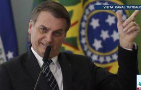 ONG estarían provocando incendios en Amazonas dice Bolsonaro