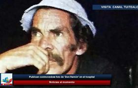 Publican conmovedora foto de 'Don Ramón' en el hospital