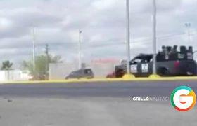 Fuerte Enfrentamiento en Nuevo Laredo, Tamaulipas