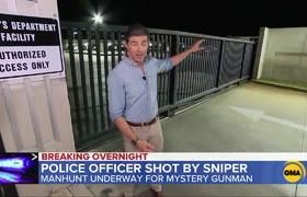 Manhunt continues for sniper who shot LA deputy