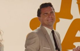 Leonardo DiCaprio dancing