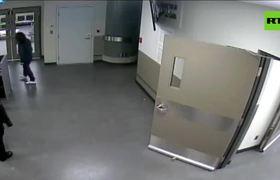 Publican el video del arresto de la ejecutiva de Huawei en Canadá