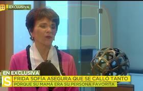 Frida Sofía asegura que su mamá sostuvo un romance con su ex Christian Estrada