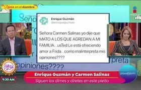 Enrique Guzmán aclara su afirmación 'Yo mato'