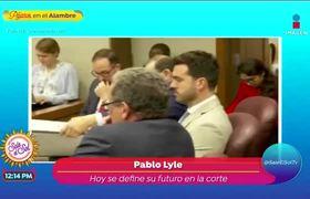 Pablo Lyle enfrenta audiencia final que definirá su futuro