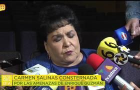 Carmen Salinas responde a las AMENAZAS DE MUERTE hechas por Enrique Guzmán