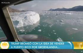 Donald Trump jokes about selling to Puerto Rico for Greenland