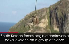 South Korea Holds Military Exercise on Islands Claimed by Japan