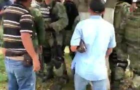 Grupo de civiles agrede a elementos de la Guardia Nacional