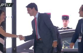 #NEWS: World leaders arrive for G7 final day