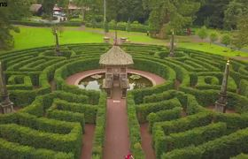 Stunning images show Prince Charles' maze