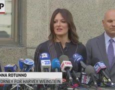 Weinstein in court for new indictment